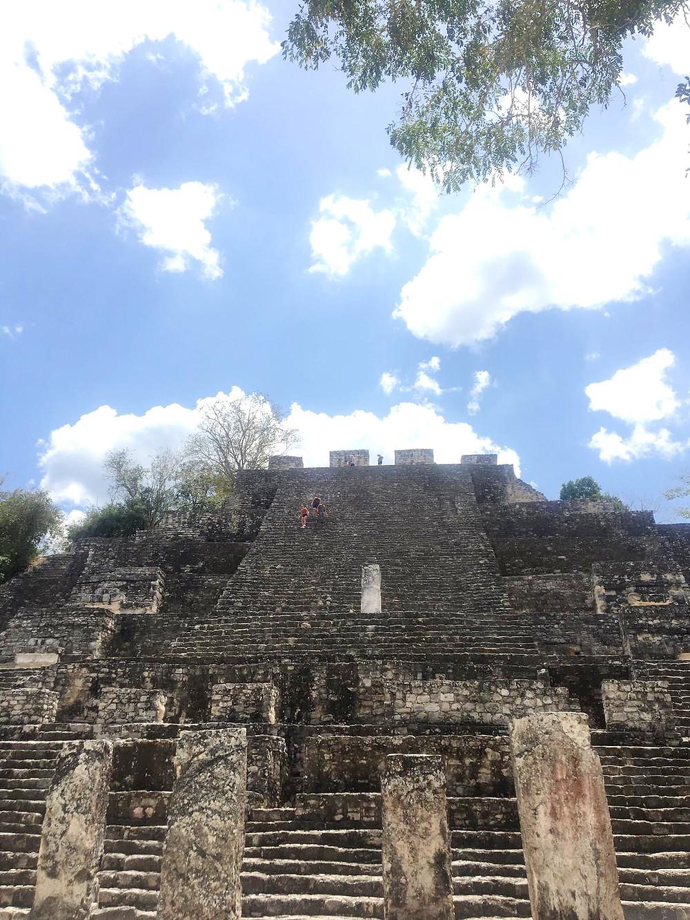 Mexiko-Urlaub-Calakmul-Maya-Tempel-Mietwagen
