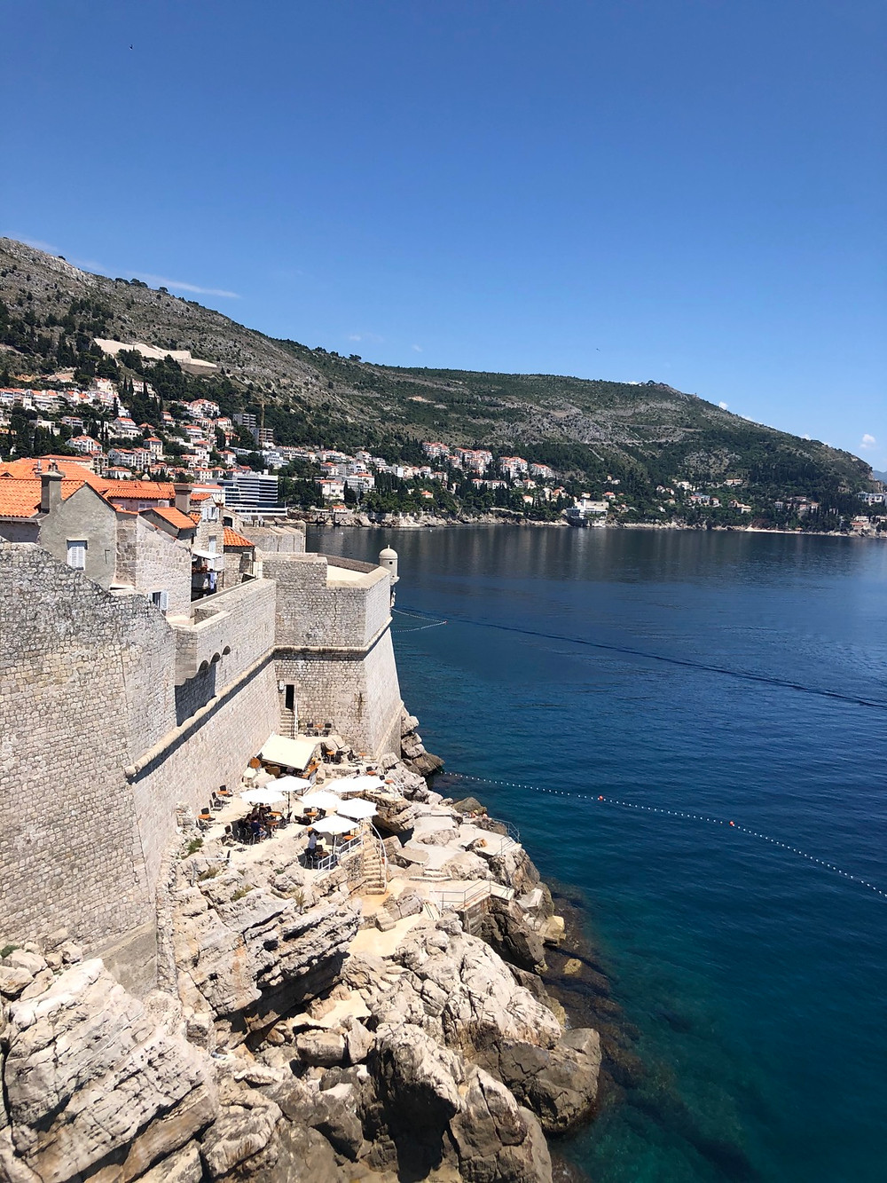 Dubrovnik-cliff-bar-schöne-aussicht