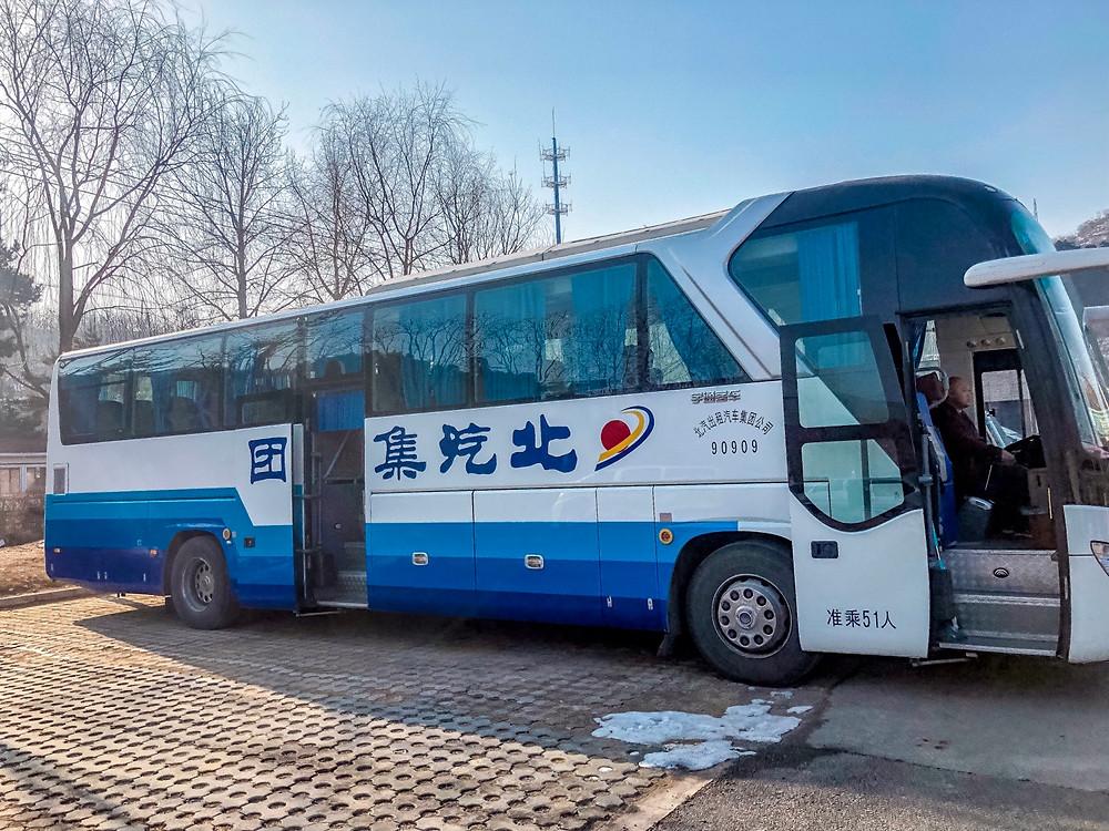 Peking-Chinesische-Mauer-Ausflug-Tour-Tagesausflug-Reisebericht-Bus