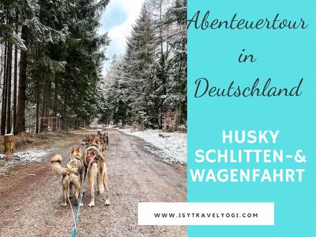 Abenteuertour Husky Schlitten- und Wagenfahrt in Deutschland
