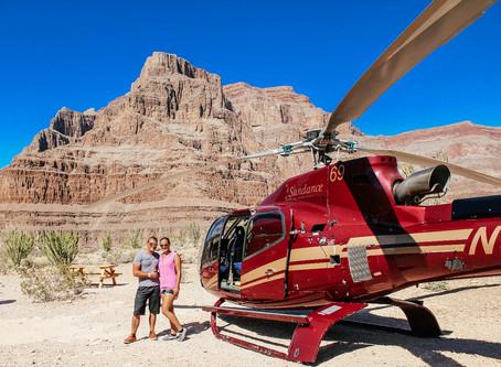 Las Vegas:Helikopterflug zum Grand Canyon