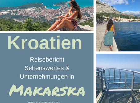 Kroatien Reisebericht: Makarska Riviera-Sehenswertes und aufregende Unternehmungen!