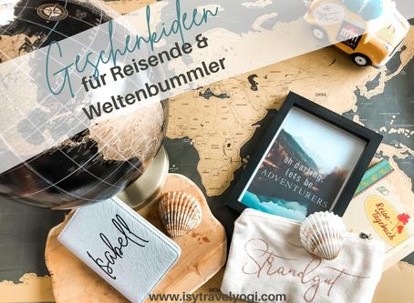 20 tolle Geschenkideen für Reisende & Weltenbummler- ob zu Weihnachten, Geburtstag oder Hochzeit!