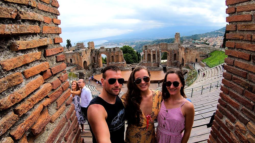 Sizilien-schönsten-Strände-Taormina-Theater-Reisebericht