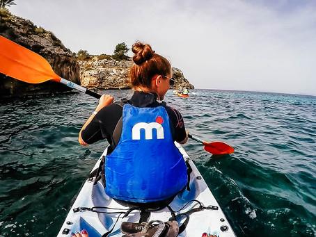 Kajaktour zu Mallorcas Meereshöhlen
