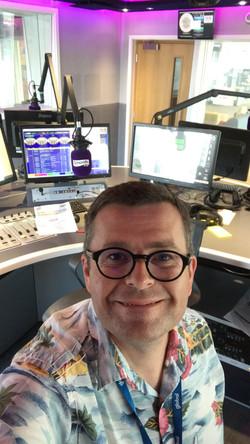On-air on Smooth Radio