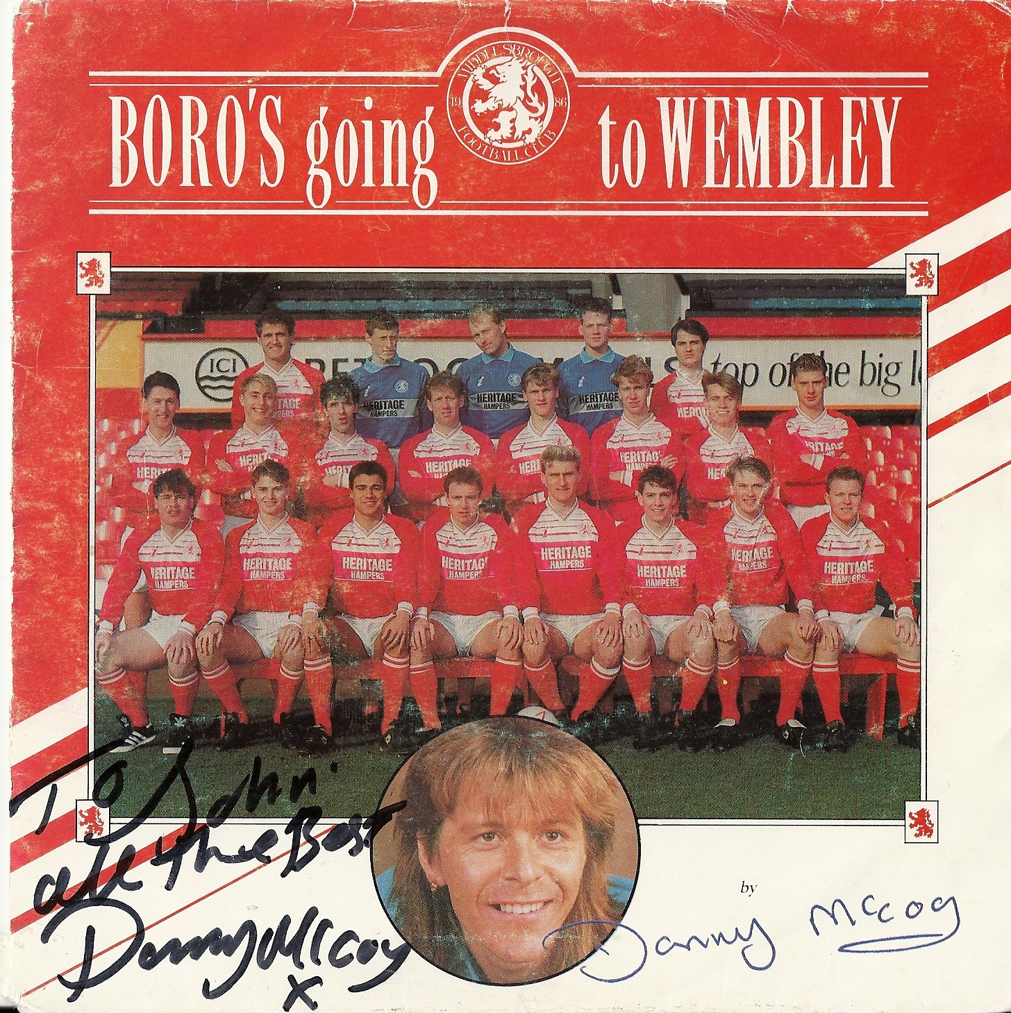 Boro @ Wembley 1990