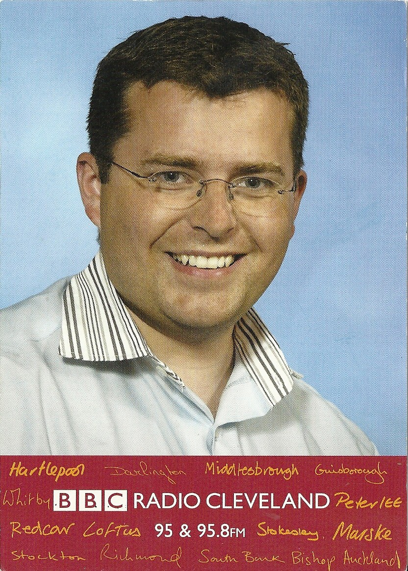 First BBC postcard 2002