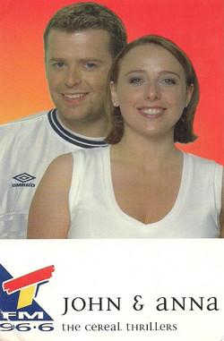 96.6 TFM Breakfast 1998