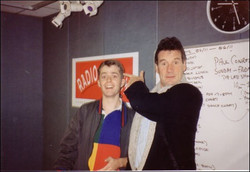 With Michael Palin.