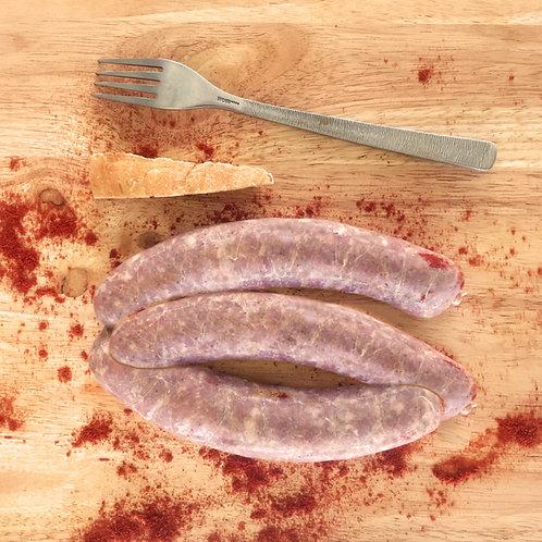 Saucisses au paprika 450 g