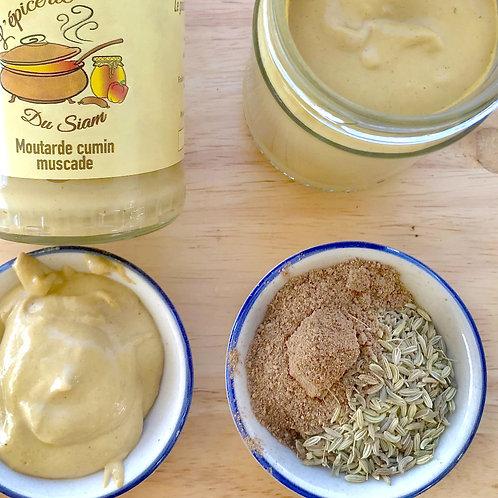 Moutarde au cumin et noix de muscade  105 g net