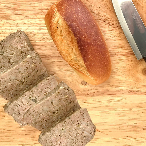 Tranches de paté de porc campagnard  200 g net