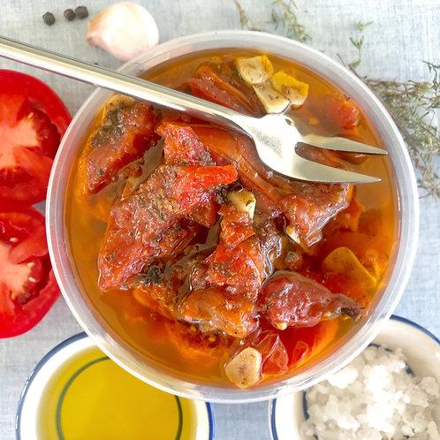Tomates marinées aux aromates  200 g net