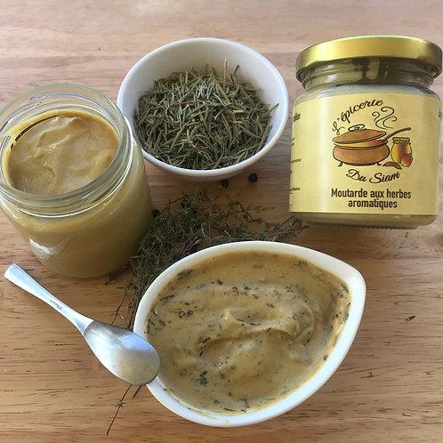 Moutarde aux herbes de Provence 105 g net