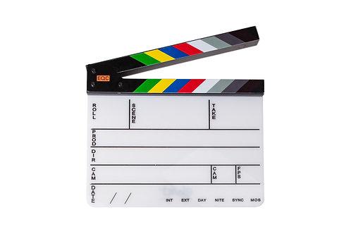 Film Video Slate Clapboard