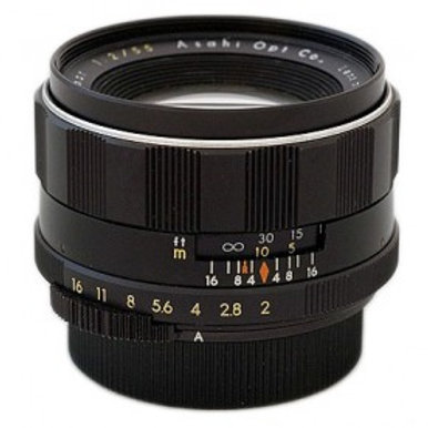 Asahi Pentax SMC Takumar 55mm F2.0 Lens