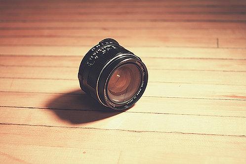 Asahi Pentax SMC Takumar 35mm F2.0 Camera Lens