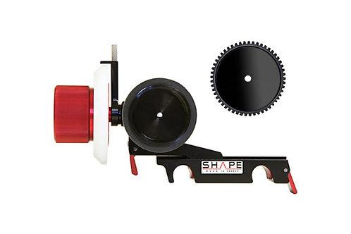 SHAPE Friction and gear CLIC follow focus 15mm lightweight