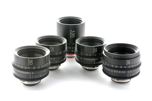 GL Optics Zeiss Contax Lens Super Speed Prime Set