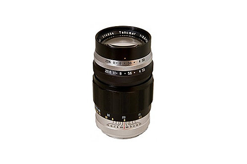 Asahi Pentax Takumar 135mm F3.5 (chrome & black)