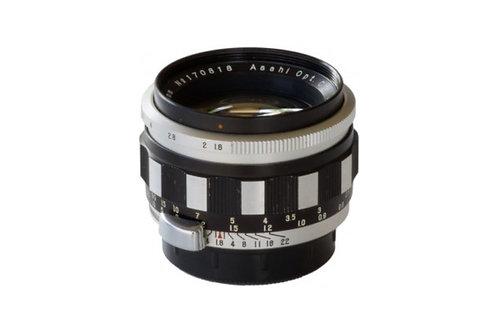 Asahi Pentax Takumar 55mm F1.8 (chrome & black)