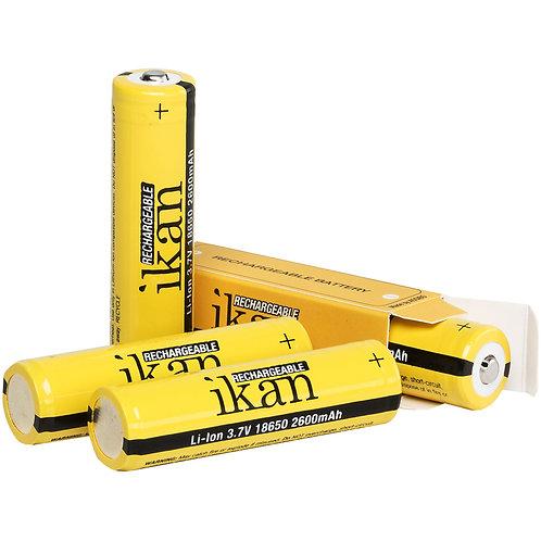Ikan 18650 Li-Ion Batteries