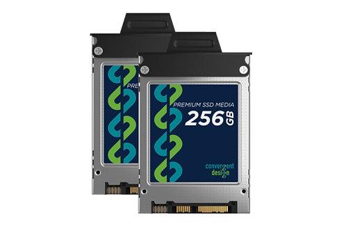 Convergent Design 256GB Premium SSD for Odyssey 7, 7Q, 7Q+