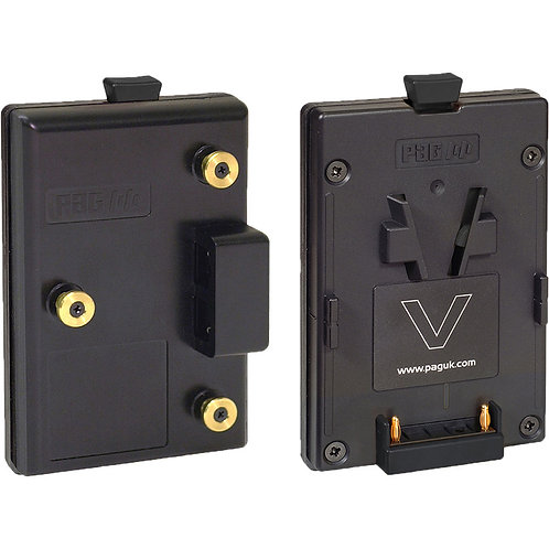Gold Mount to V-Mount Adapter Battery Plate
