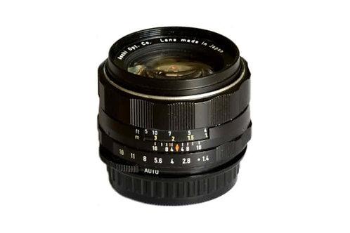 Asahi Pentax 50mm f1.4 Camera Lens