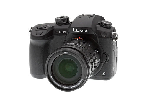 Panasonic GH5 Lumix Mirrorless Micro Four Thirds Digital Camera (Body Only)