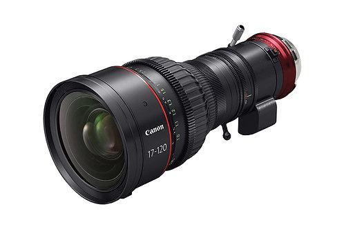 Canon 17-120mm T2.95 Lens