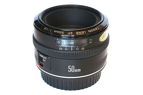 Canon EF 50mm f/1.8 Mark I – Original Metal Mounted