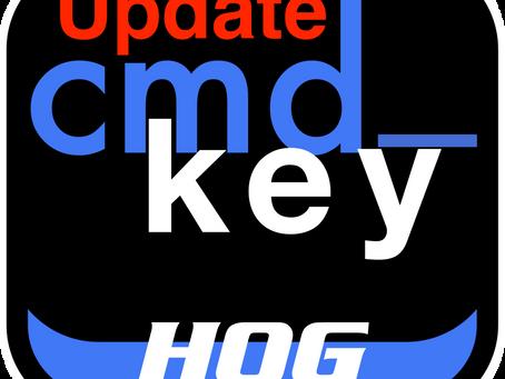 cmd_key HOG Update