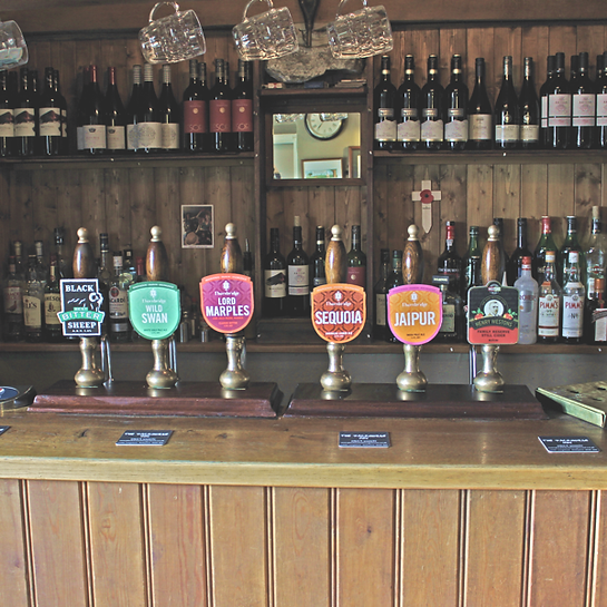 Packhore Inn Beer Selection Image