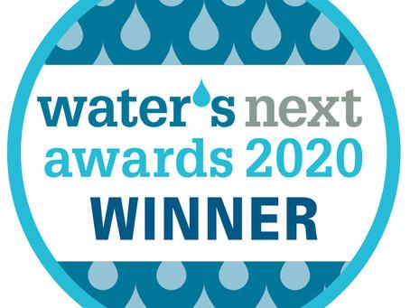 SENTRY selected as winner of Waters Next award