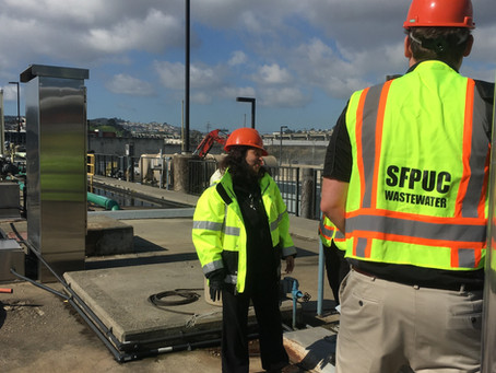 SENTRY deployment with San Francisco PUC, wastewater treatment facility - Aeration optimization