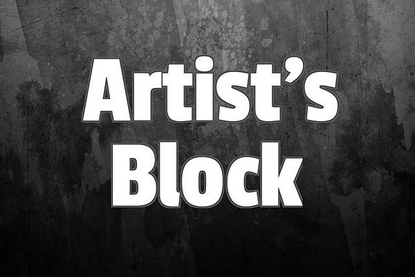 Block image describing Artist's Block on blog with ways to prevent blocks by Ruth Collis.