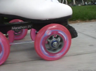 QuadLine roller skating