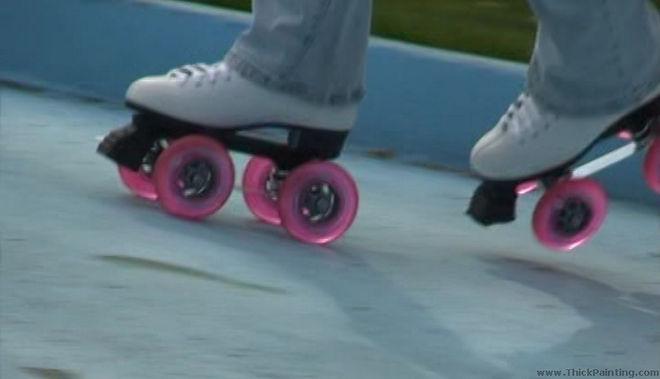 Translucent QuadLine wheels