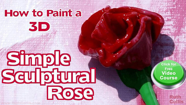 Simple Sculptural Rose course by Ruth Collis