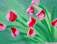 Broomstick Tulips