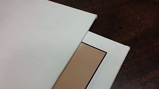 canvas board or canvas panel