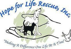 Hope for Life Animal Rescue Logo