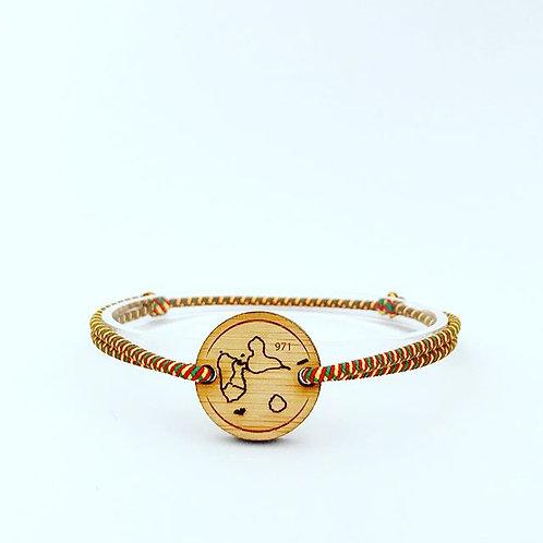 bracelet GUADELOUPE 971