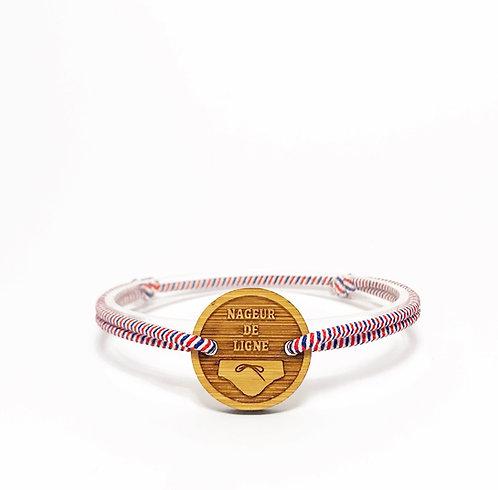 bracelet NAGEUR DE LIGNE Tricolore