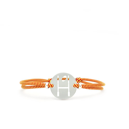 bracelet OVALIE ROUGE/JAUNE