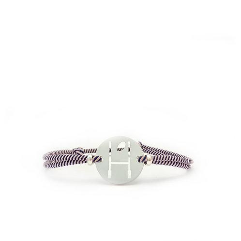 bracelet OVALIE ROSE/MARINE