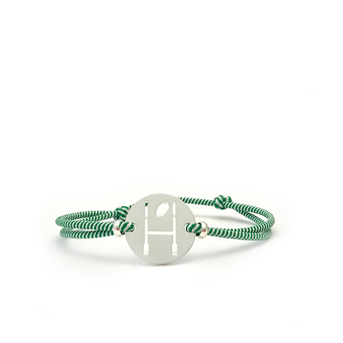 bracelet OVALIE - VERT/BLANC