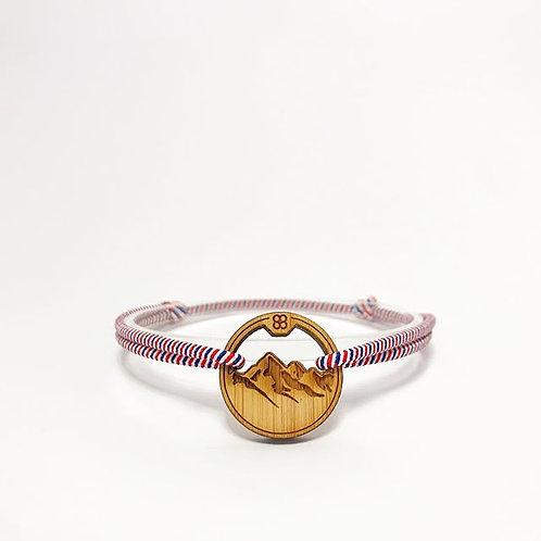 bracelet MONTAGNES TRICOLORE